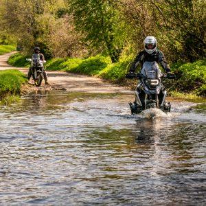biking across water